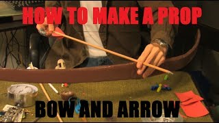 How to make a Prop Bow and Arrow