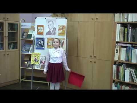 Изображение предпросмотра прочтения – НадеждаМайкова читает произведение «Майская песенка» В.В.Маяковского