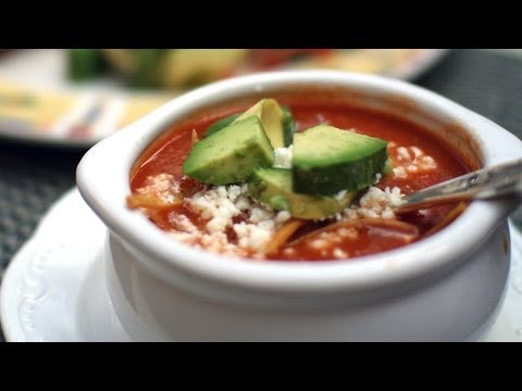 MEXICAN SOUP RECIPE: Tortilla Soup