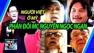 Dư luận dân Mỹ gốc Việt dậy sóng vụ MC Nguyễn Ngọc Ngạn chế diễu, phê phán Tổng thống Trump
