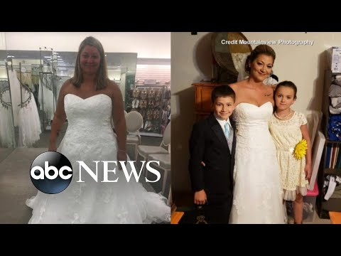 How one bride lost more than 60 pounds before her wedding