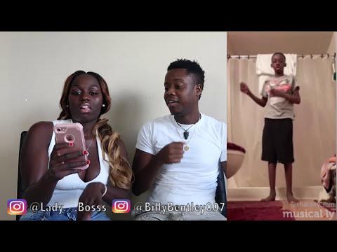Reacting To Our Kid Subscribers Twerk Musically Videos
