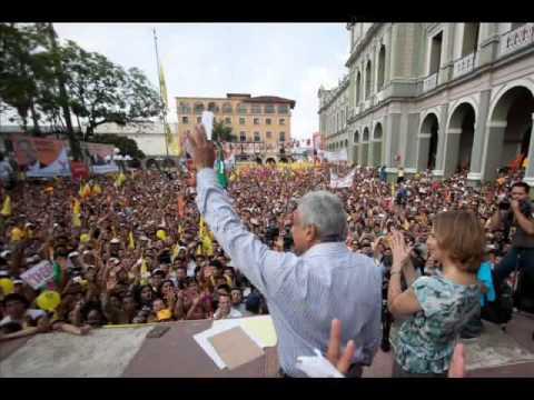 AMLO Presidente  gimme the power Molotov