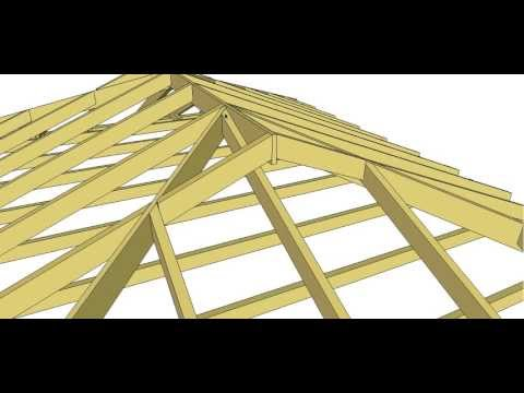 Dutch Gable Roof Method 2 Youtube