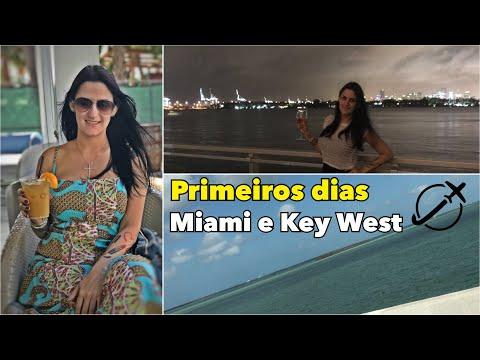 PRIMEIROS DIAS EM MIAMI E KEY WEST - VLOG