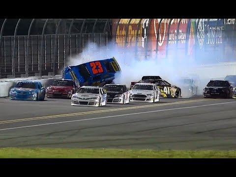 2018 ARCA Racing Series Bret Holmes Crash Daytona Lucas Oil 200