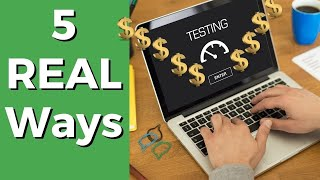 5 Best Ways to Get Paid to Test Websites & Apps (Up to $60/Hour)