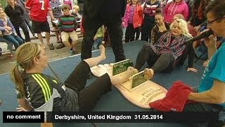 World Toe Wrestling Championship kicks off in UK - no comment