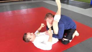 Ryan Fiorenzi Teaching the No Arm Triangle at Kaizen BJJ in Plymouth Mi