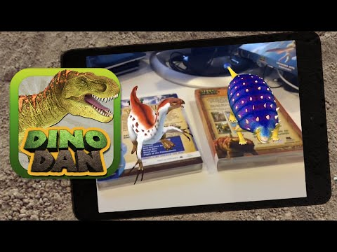 Dinosaurs come to life with Dino Dan Player! - Free 3D Dinosaur App for iOS and Android