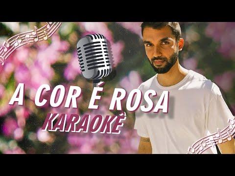 A Cor É Rosa - Letra e Karaokê | SILVA