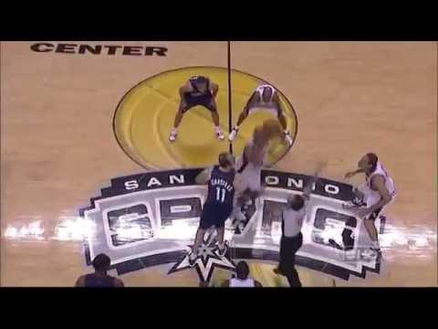 2007 NBA Finals Game 1 Spurs vs Cavaliers Full Game Highlights