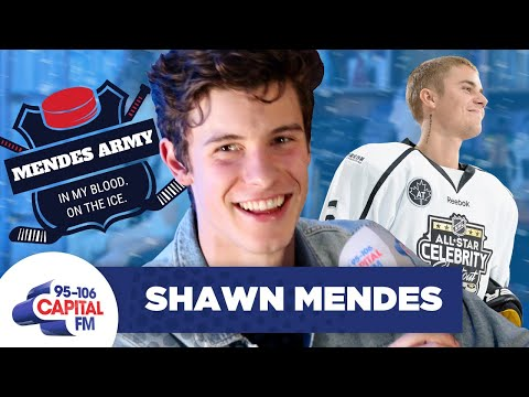 Shawn Mendes Trash-Talks Justin Bieber's Hockey Skills 🏒 | FULL INTERVIEW