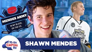 Shawn Mendes Trash-Talks Justin Bieber's Hockey Skills 🏒 | FULL INTERVIEW | Capital Video