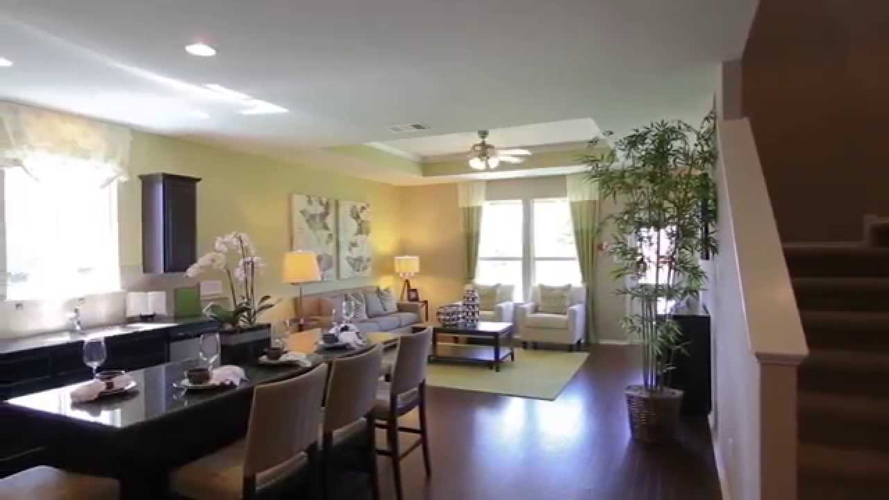 new homes by centex mallory floorplan youtube