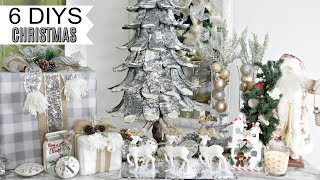 🎄6 DIY DOLLAR TREE CHRISTMAS DECOR CRAFTS 2019🎄GLAM