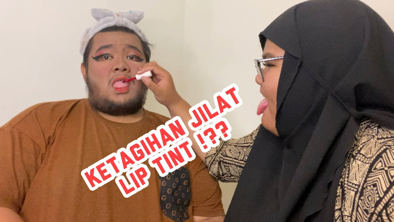MAKE UP-IN PACAR MALAH MAKANIN LIP TINT!