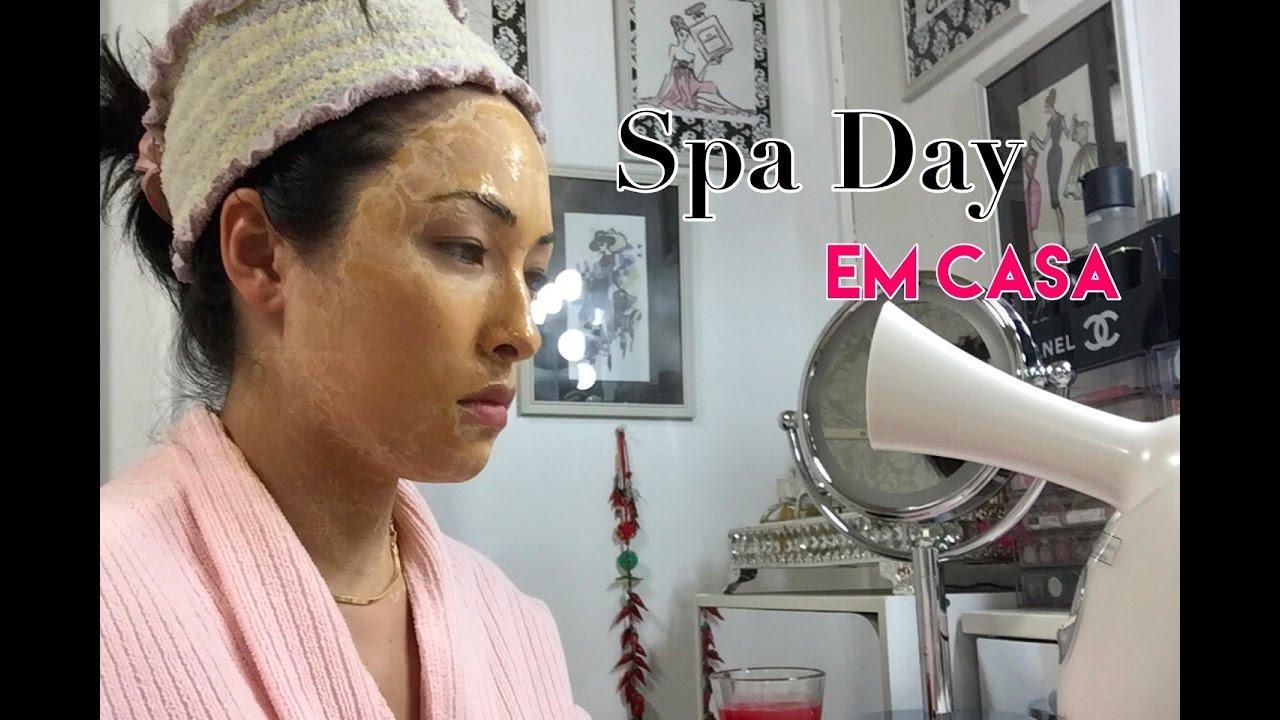 Spa Day Em Casa Flor O Oriente Youtube