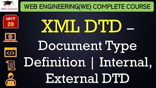 XML DTD – Document Type Definition | Internal, External DTD with example in Hindi