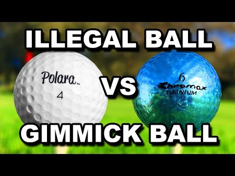 CHEATING ILLEGAL GOLF BALL