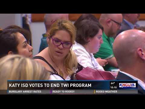 Katy ISD votes to end TWI program