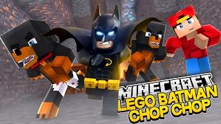 Minecraft -THE  LEGO BATMAN MOVIE CHOP CHOP - Little Baby Max W/ROPO & Donut
