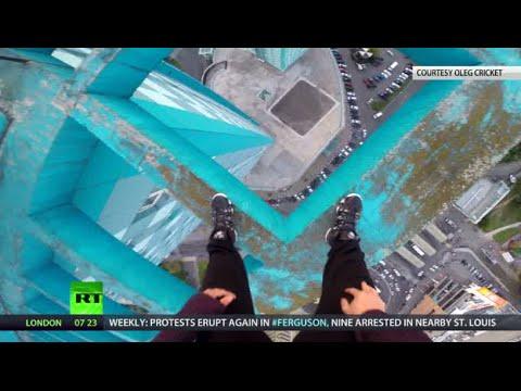 On the Edge: Crazy stunts of Russian adrenaline addict