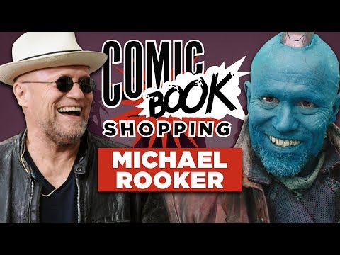 Michael Rooker Almost Didn't Star in Guardians of the Galaxy  Comic Book Shopping