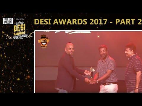 #DesiAwards2017 -  Part 2 | Smile Settai | TrendLoud | RJ VigneshKanth | Chutti Aravind