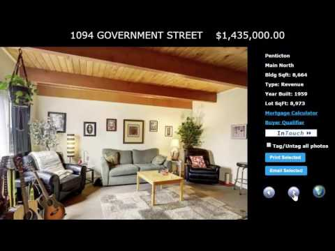1094 Government Street  Century Manor Apartment Block Revenue Property Penticton BC