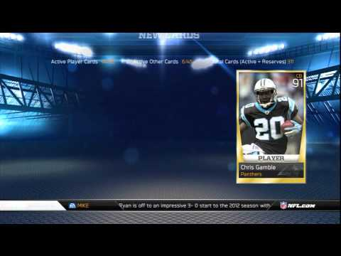 Madden 13 | Ultimate Team : All-Pro Bundle Opening [Episode 8]