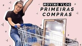 PRIMEIRAS COMPRAS PARA A CASA! - MOVING VLOGS #1 | Inês Rochinha