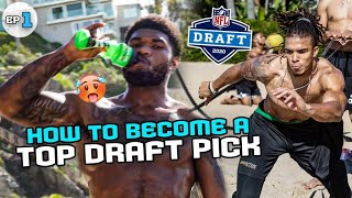 New Packers QB Jordan Love Stars In NFL Draft REALITY SHOW! How College Stars Train To Be TOP PICKS!