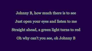 The Hooters – Johnny B (cover version with lyrics)