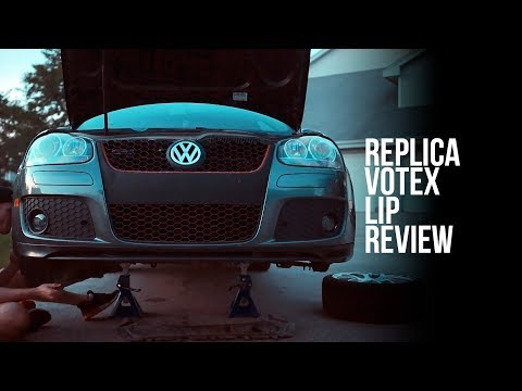 Replica Votex Lip - MkV GTI / GLI - A Review