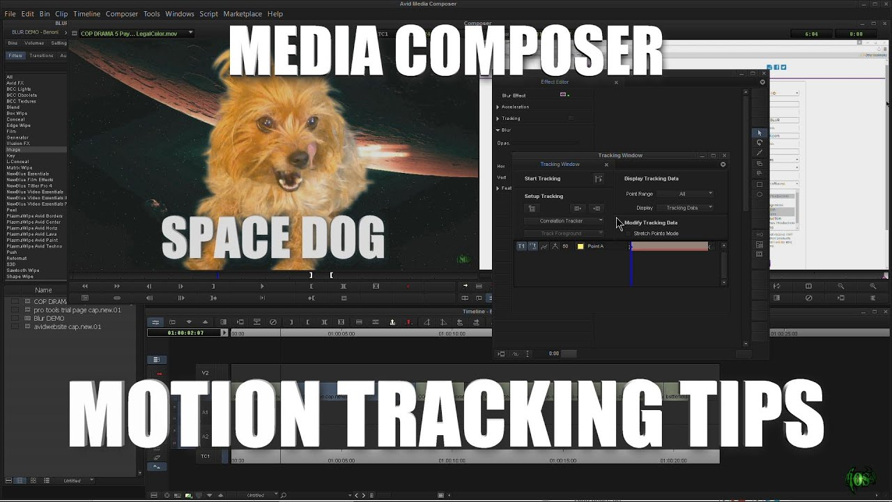 Media Composer Motion Tracking Tool Tips Youtube