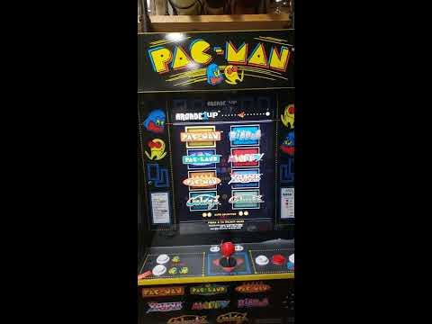 ARCADE1Up PAC- MAN 8 IN ONE MACHINE from Monty Woodgrain