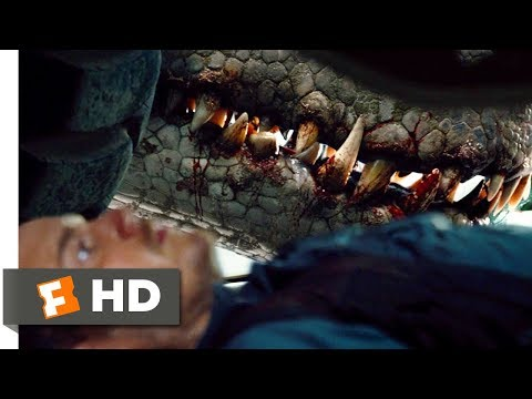 Jurassic World (2015) - Its In There With You Scene (2/10) | Movieclips