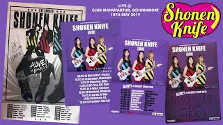 Shonen knife - live @ club manufaktur, schorndorf, germany 10.05.2019 (audio)