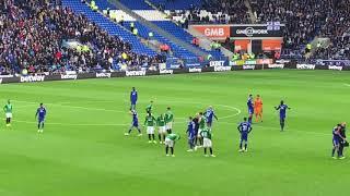 Cardiff City FC 2 v Brighton Hove Albion 1 | Remembrance Game 2018 Poppy Day | WGOTB