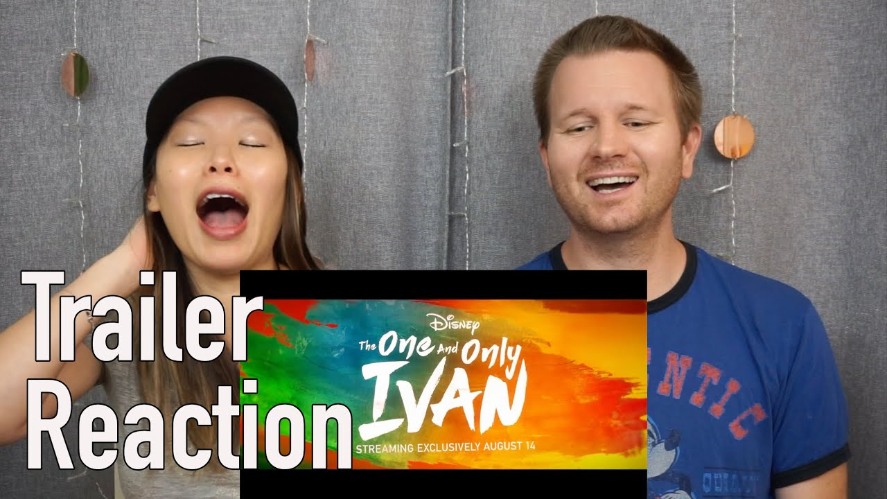 The One And Only Ivan Official Trailer // Reaction & Review