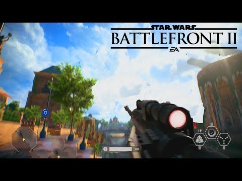STAR WARS BATTLEFRONT 2 SNIPER MULTIPLAYER GAMEPLAY