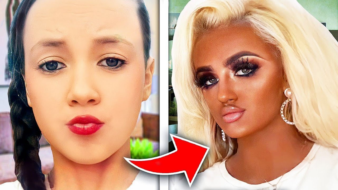 The TikToker Who Thinks She's Black.. (please stop this) - download from YouTube for free
