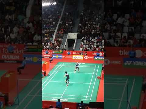 Badminton anthony ginting indonesia open 2018
