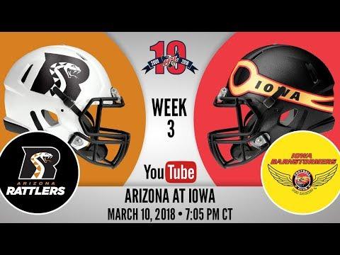 Week 3 | Arizona Rattlers at Iowa Barnstormers