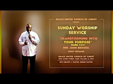 """Today's Message is """"Transforming Into Your Purpose"""" by Min. John Brooks"""