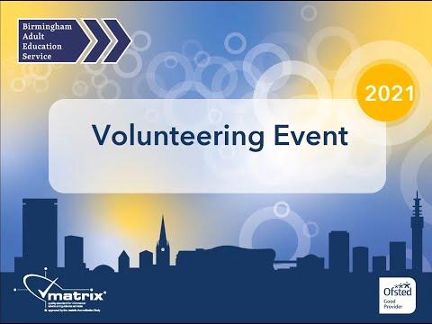 Volunteer Event 2021