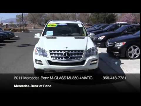 2011 mercedes benz m class 4matic 4dr ml350 suv reno nv for Mercedes benz reno nv