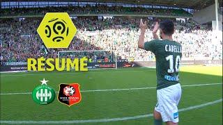 AS Saint-Etienne - Stade Rennais FC (2-2)  - Résumé - (ASSE - SRFC) / 2017-18