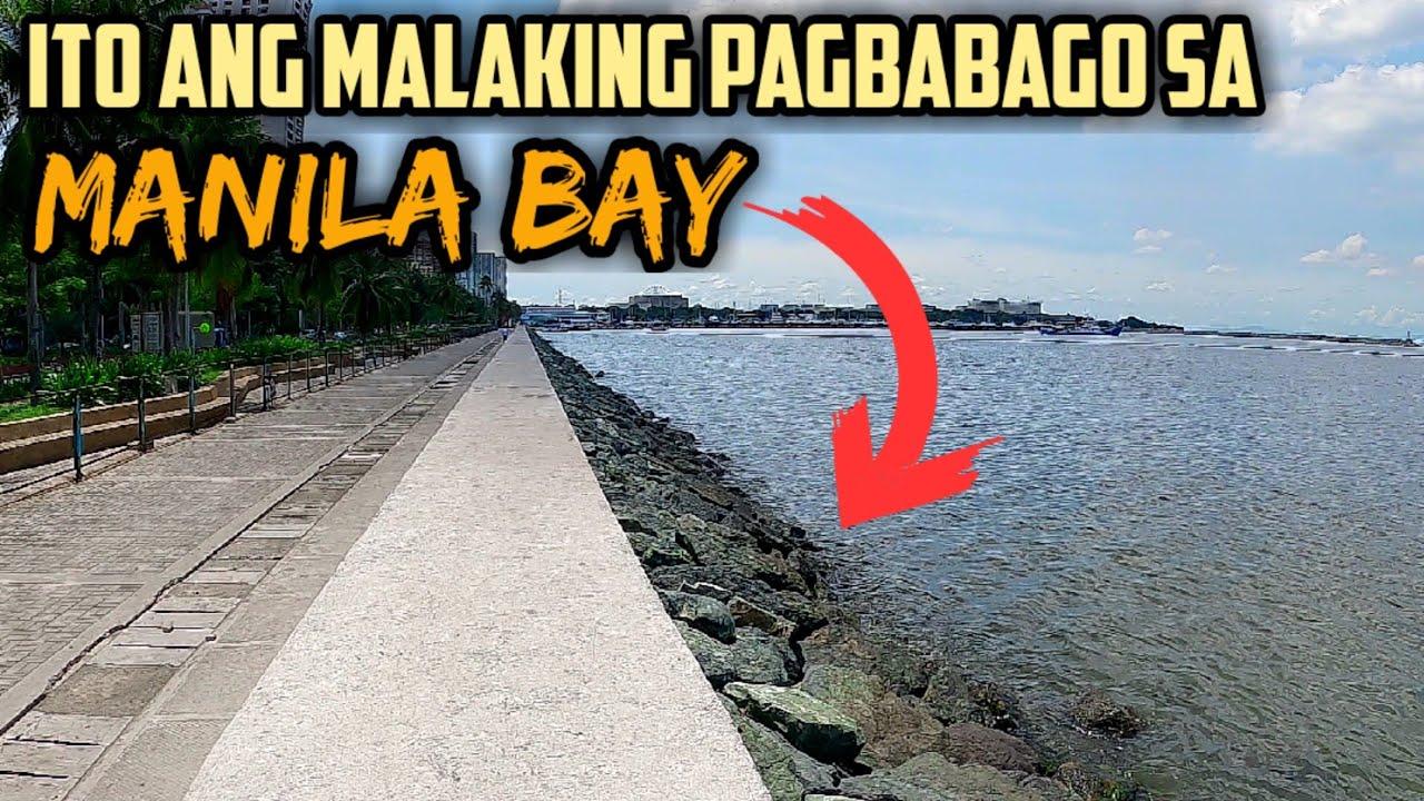 Malaking Pagbabago sa Manila Bay maliban sa White Sand